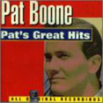 Pat Boone - importación de los E.e.u.u. grandes éxitos [CD] de Pat