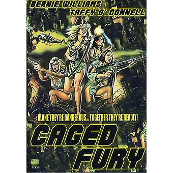 Caged Fury [DVD] USA importar