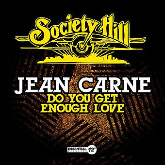 Jean Carne - Do You Get genoeg Love [CD] USA import
