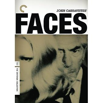 Faces (1968) [DVD] USA import