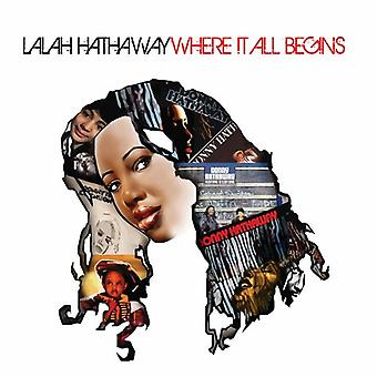 Lalah Hathaway - Where It All Begins [CD] USA import