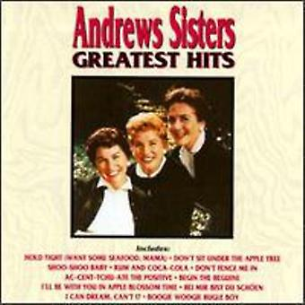 Andrews Sisters - Greatest Hits [CD] USA import