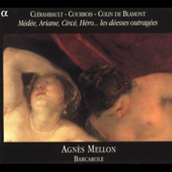 Agnes Mellon - Les D cesser Outrag Es [CD] USA import
