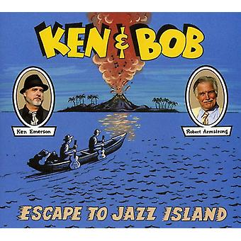 Ken Emerson & Robert Armstrong - Ken & Bob flugt til Jazz Island [CD] USA import