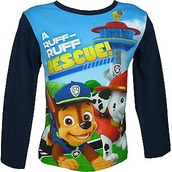 Boys Paw Patrol Long Sleeve T-Shirt / Top