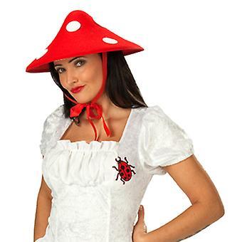 Fly agaric mushroom lucky mushroom Hat hat to the mushroom costume