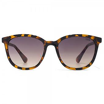 SUUNA Salome Small Round Sunglasses In Tortoiseshell
