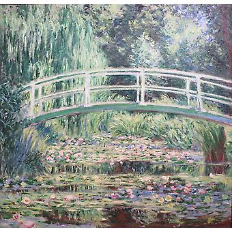 Claude Monet - White Water Lilies Poster Print Giclee