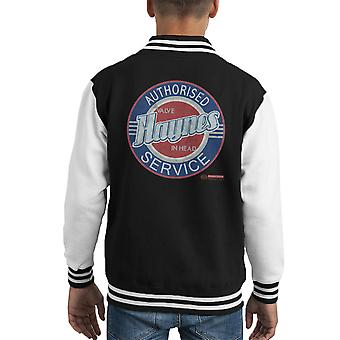 Haynes Buick Authorised Service Center Kid's Varsity Jacket