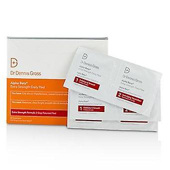 Dr. Dennis Gross Alpha Beta ekstra styrke daglige Peel - 60 behandlinger