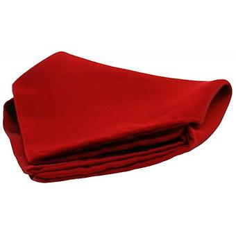 David Van Hagen Satin Silk Handkerchief - Red