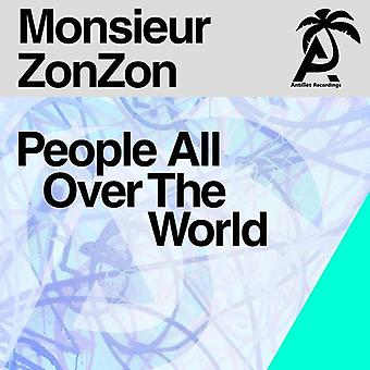 Monsieur Zonzon - People All Over the World [CD] USA import