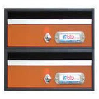 BTV Avant mailbox G2 Orange 240X250X120 (DIY , Hardware , Home hardware , Mailboxes)
