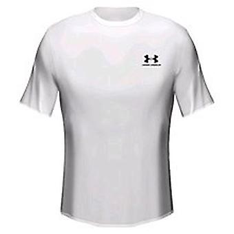 UNDER ARMOUR heatgear loose tee youth [white]