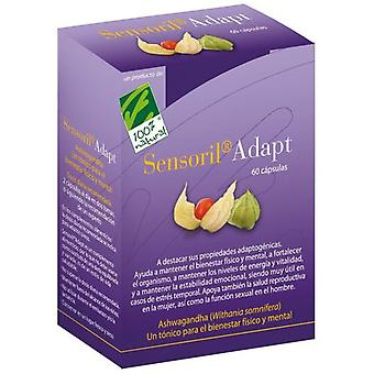 100% Natural Adapt Sensoril 60 capsules