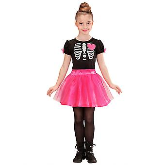 Ballerina Skeleton Girl Costume