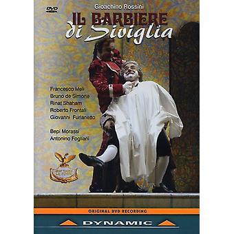 G. Rossini - importación de Estados Unidos II Barbiere Di Siviglia-Comp ópera [DVD]
