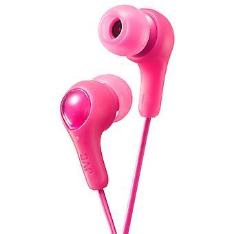 JVC Gumy Plus In-Ear Ohrhörer Kopfhörer-Kopfhörer - Pink (Modell-Nr. HAFX7P)