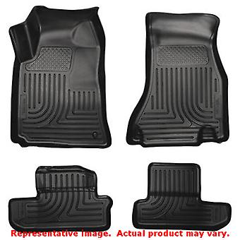 Husky Liners 98021 Black WeatherBeater Front & 2nd Seat FITS:DODGE 2008 - 2010