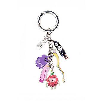 Adventure Time Keyring Keychain Princesses Charms new Official Metal