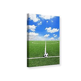 Canvas Print Football Field