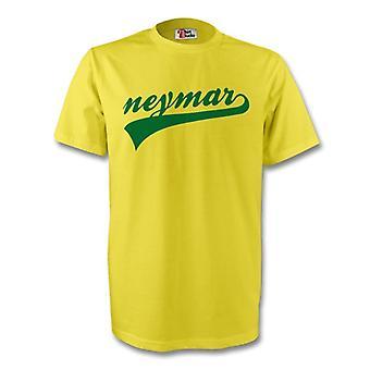 Neymar Brazil Signature Tee (yellow) - Kids