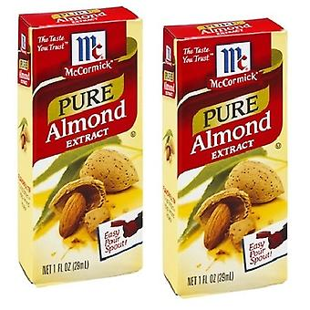 McCormick Pure amandel Extract 2 fles Pack
