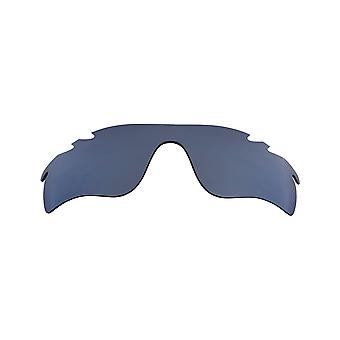 Replacement Lenses Compatible with OAKLEY Vented Radarlock Path Black Iridium