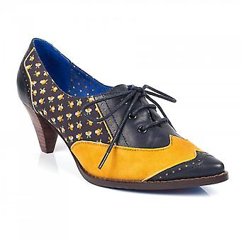 Poetic Licence Poetic Licence Madame Pointy Lace Up Heel