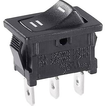 Toggle switch 250 V AC 6 A 1 x On/On SCI R13-66C-0