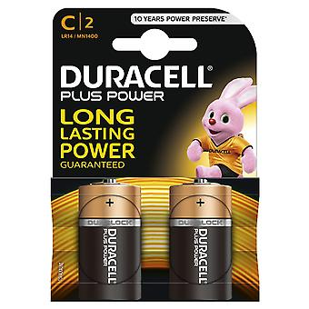 Duracell Plus Type C Twin Pack
