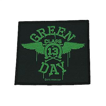 Green Day Neon Wings Woven Patch