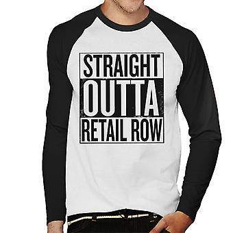 Fortnite Straight After Retail Row Men's Baseball Long Sleeved T-Shirt