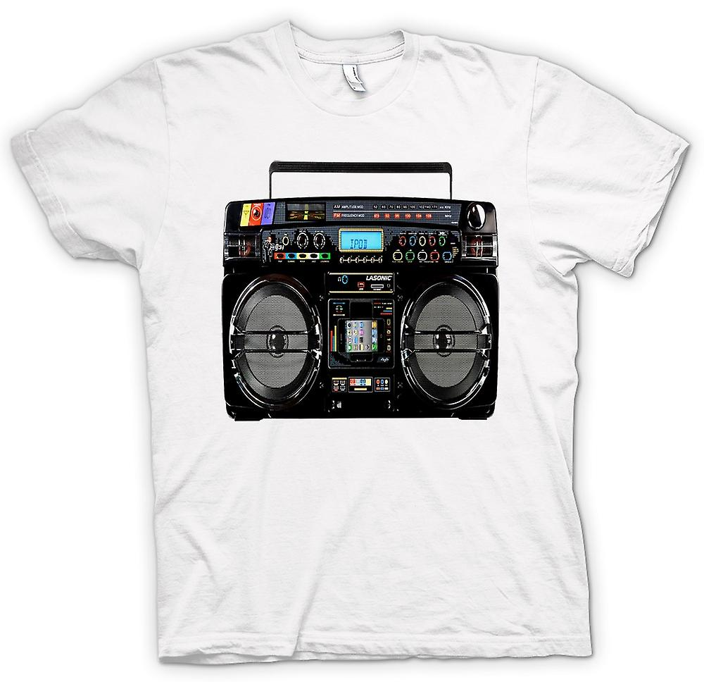 Camiseta para hombre - iPod - Ghetto Boom Box