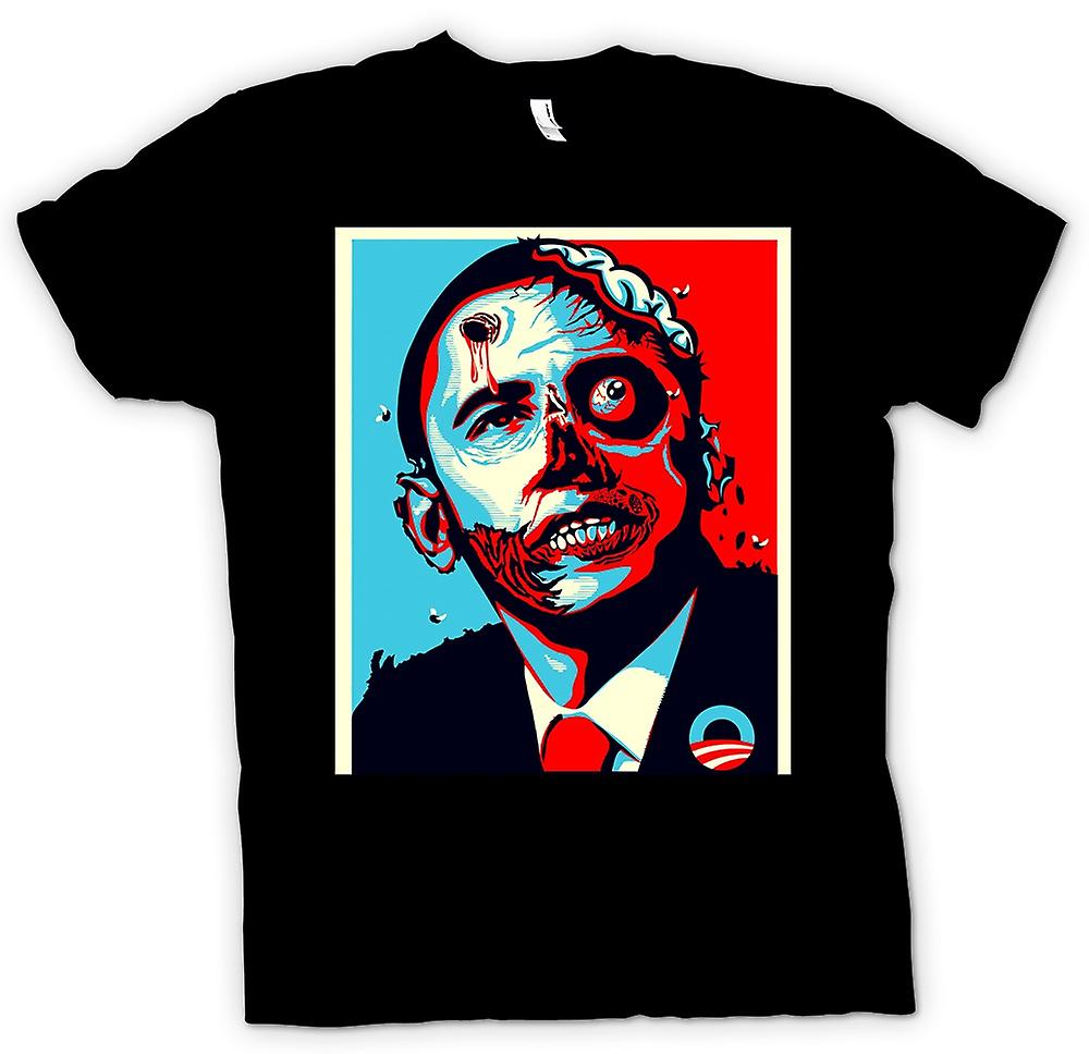 T-shirt - Obama Presidente Zombie - Funny