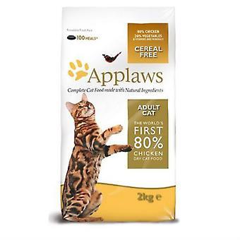 Applaws naturlige komplet voksen kat tørfoder Mix med kylling 2kg