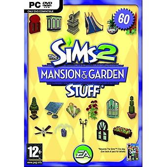 Die Sims 2 Herren Garden Stuff Pack für Die Sims 2 (PC DVD) - Fabrik versiegelt