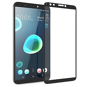 HTC Desire 12 Plus Tempered Glass (Single) - Black Edge