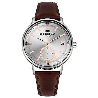 Ben Sherman mens watch PORTOBELLO PROFESSIONAL DAY-DATE WB071SBR