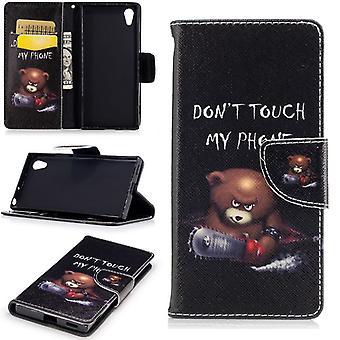 Pocket lommebok premie mønster 21 for Sony Xperia XA1 beskyttelse ermet coveret veske nye