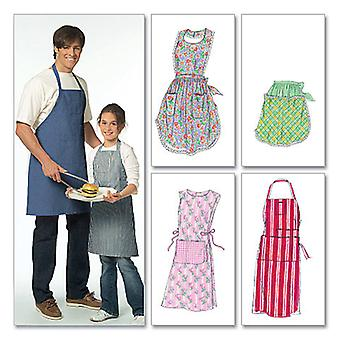 Misses'/ Men's/ Children's/ Boys'/ Girls' Aprons-All Sizes in One Envelope -*SEWING PATTERN*