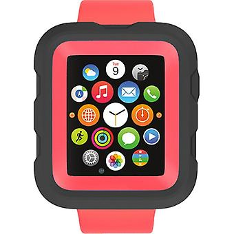 Griffin Survivor Case for 42 mm Apple Watch in Coral Fire