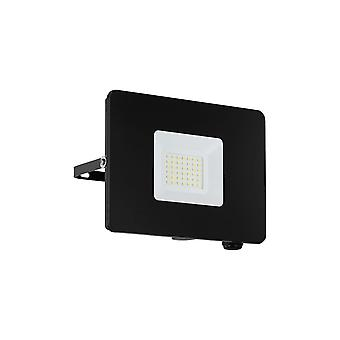 Eglo Budget Slimline 30W Black LED Floodlight