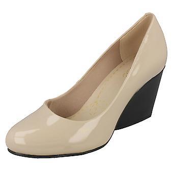 Ladies Clarks Smart kile sko Demerara krydder
