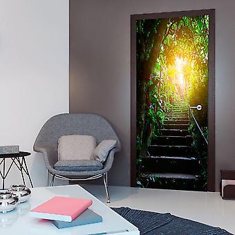 Foto som bakgrund på dörren - Fototapeter - trappan i storstadsdjungeln jag