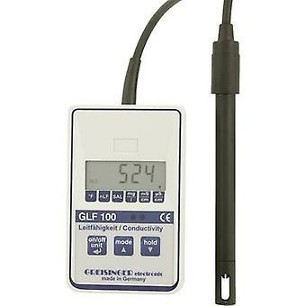 Greisinger GLF 100 Multi tester TDS, Conductivity, Temperature 0 µS/cm - 100.0 mS/cm Calibrated to Manufacturer's standa
