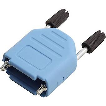 D-SUB housing Number of pins: 9 Plastic 180 ° Blue