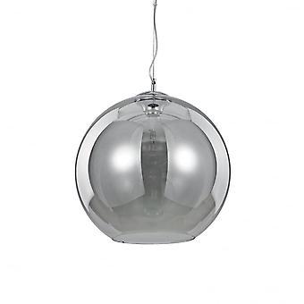 Ideal Lux Nemo Fume Single Pendant Light D40