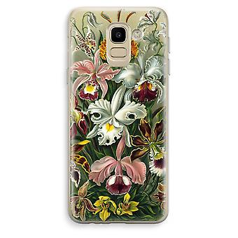 Samsung Galaxy J6 (2018) Transparent Case (Soft) - Haeckel Orchidae