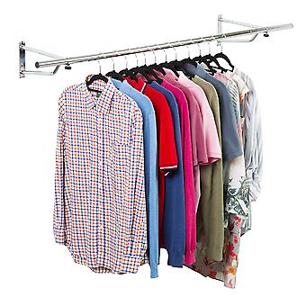 5ft Garment Rail In Chrome Plated